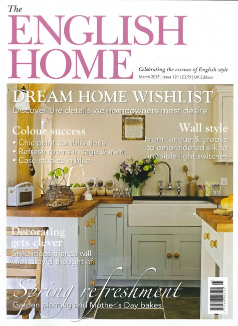 English Home Cover - March 2015