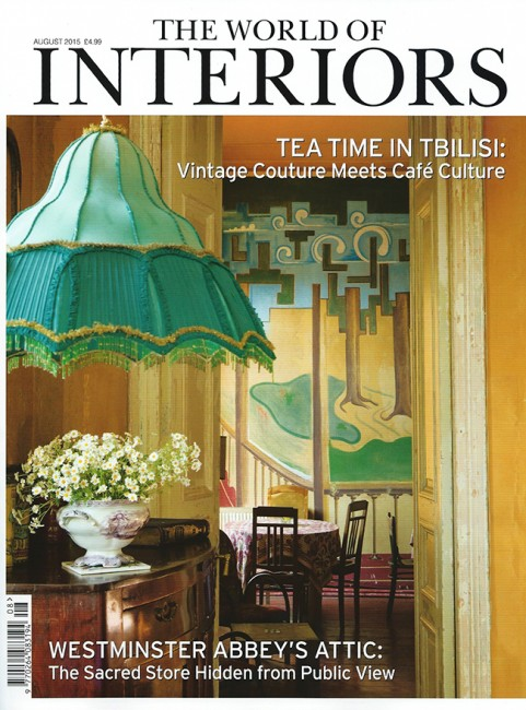 World of Interiors  - August 2015