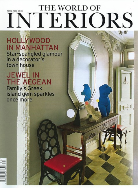 World of Interiors - April 2016